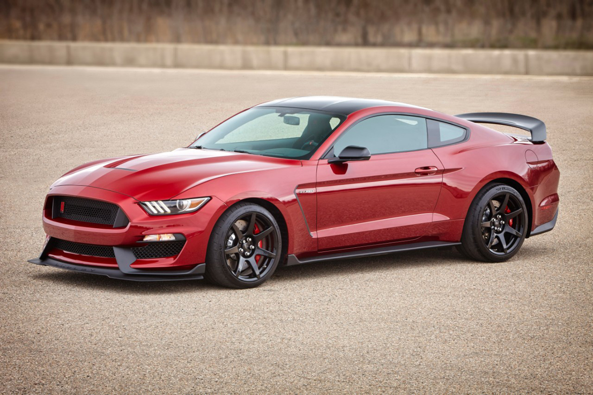 Shelby Gt350 Mustang Colors