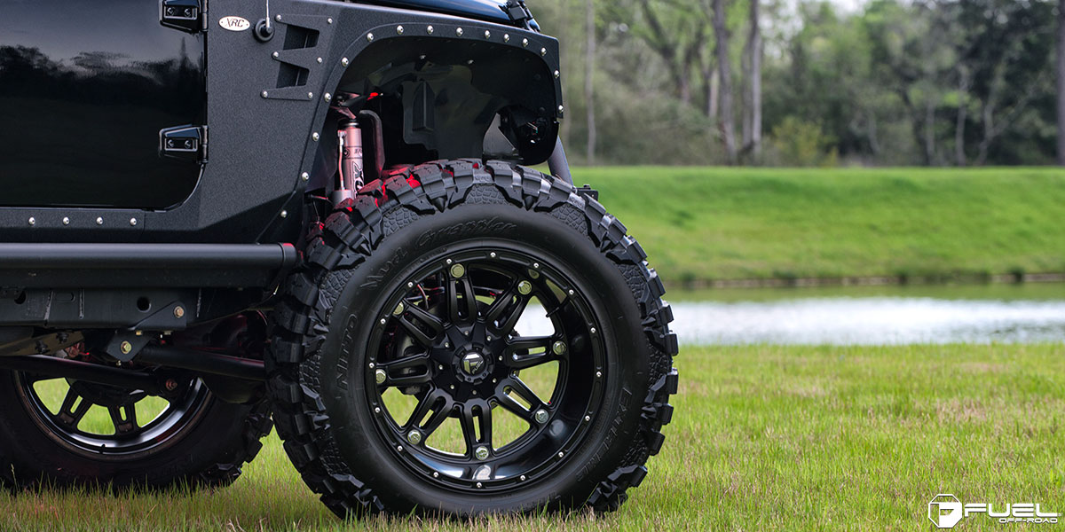 Get Hostile With This Jeep Wrangler On Fuel Wheels