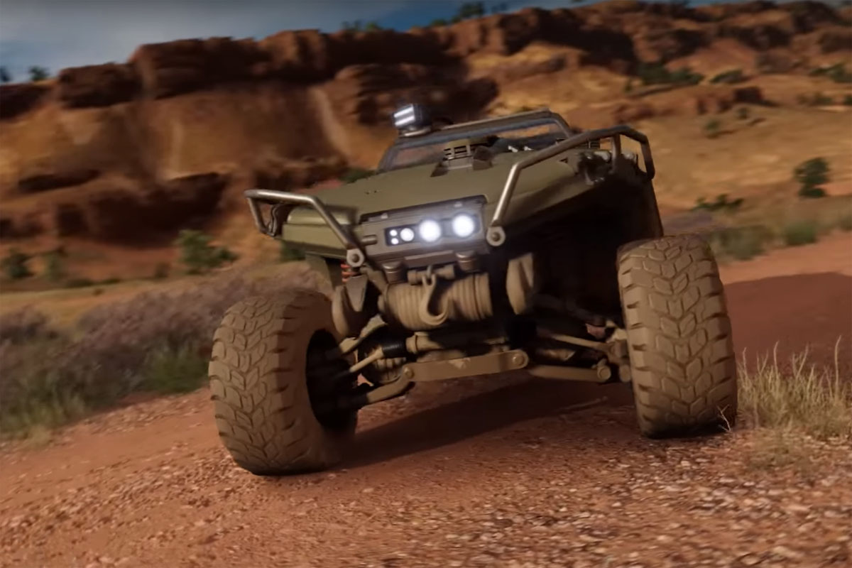 Real Life Halo Vehicles: Put The HALO Warthog's Rims And Tires To Work On Xbox