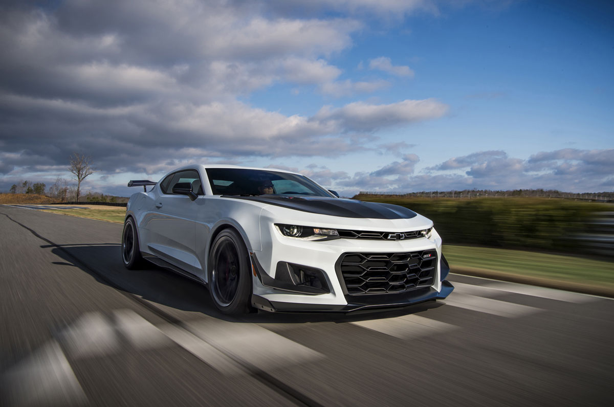 Get Some Track Spec Custom Wheels On The Camaro Zl1 1le