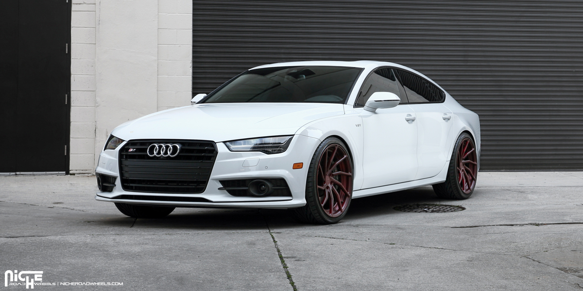 Twist In Style With This Audi S7 On Niche Wheels