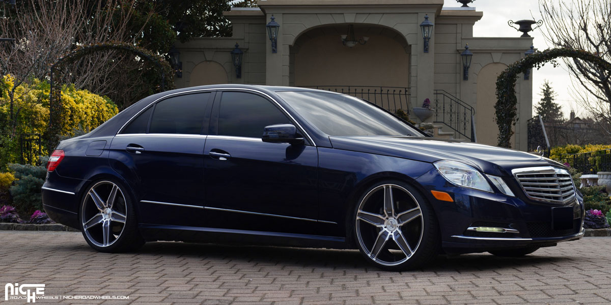 This Mercedes Benz E350 With Niche Wheels Is Classy