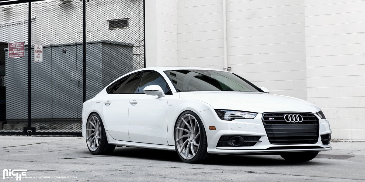 Do The Twist With This Audi S7 On Niche Wheels