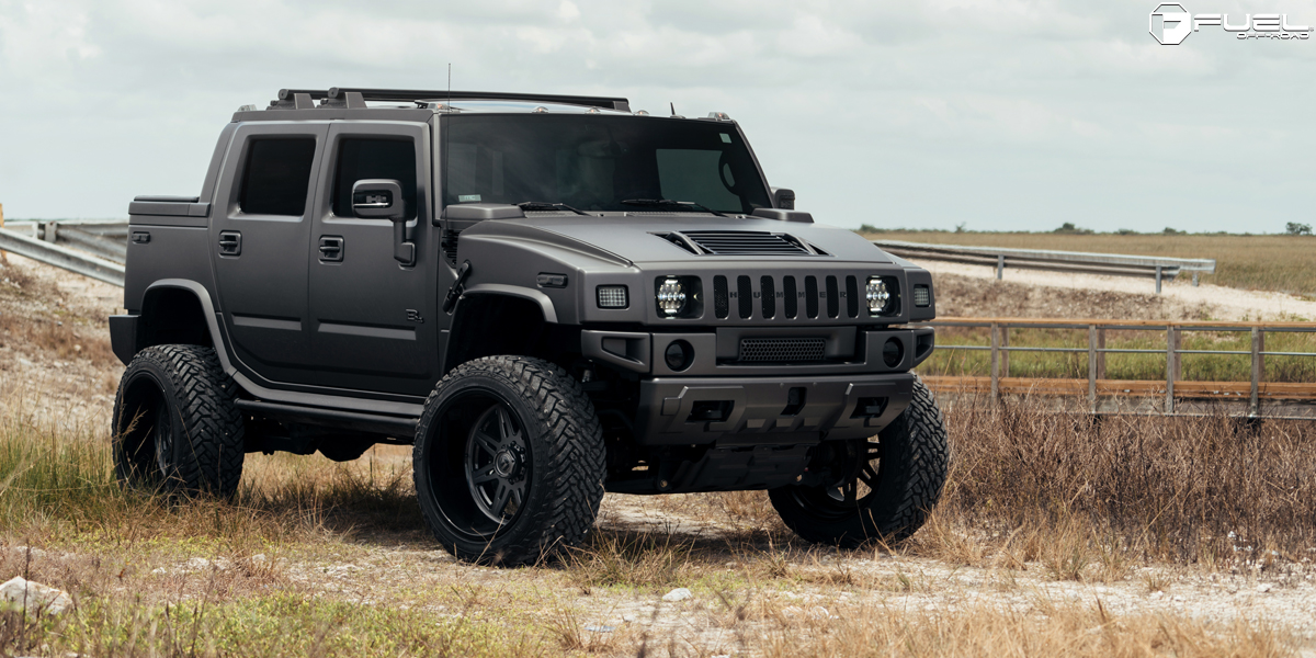 Let S Get Blacked Out With This Hummer H2 On Fuel Wheels