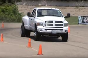 Dodge RAM Truck Wheels Autocross