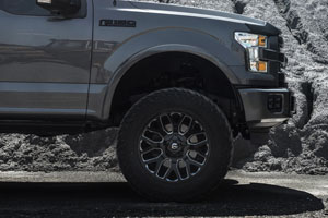 Ford F-150 Fuel Warrior - D607 Wheels