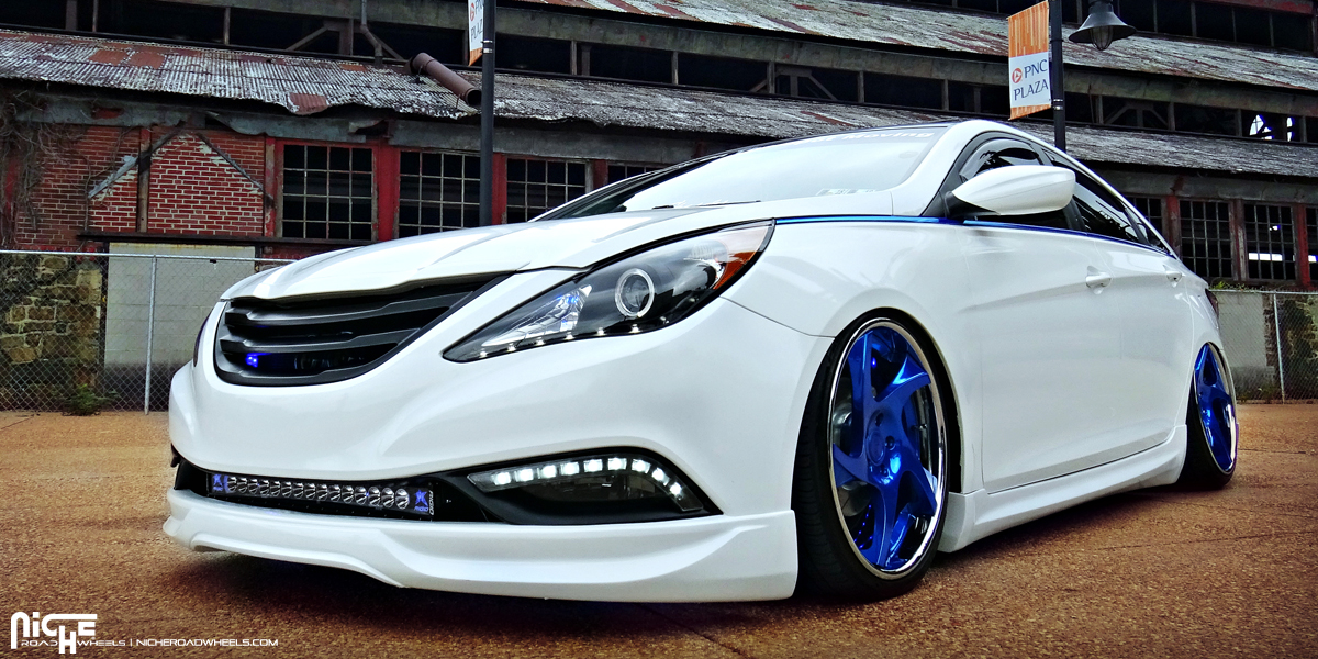 Hyundai Sonata Niche Scope Wheels
