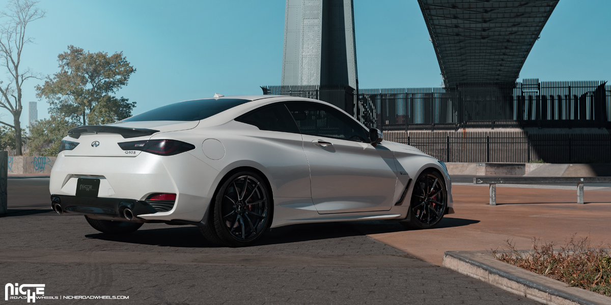 Have Some Fun With This Infiniti Q60 Sport On Niche Wheels