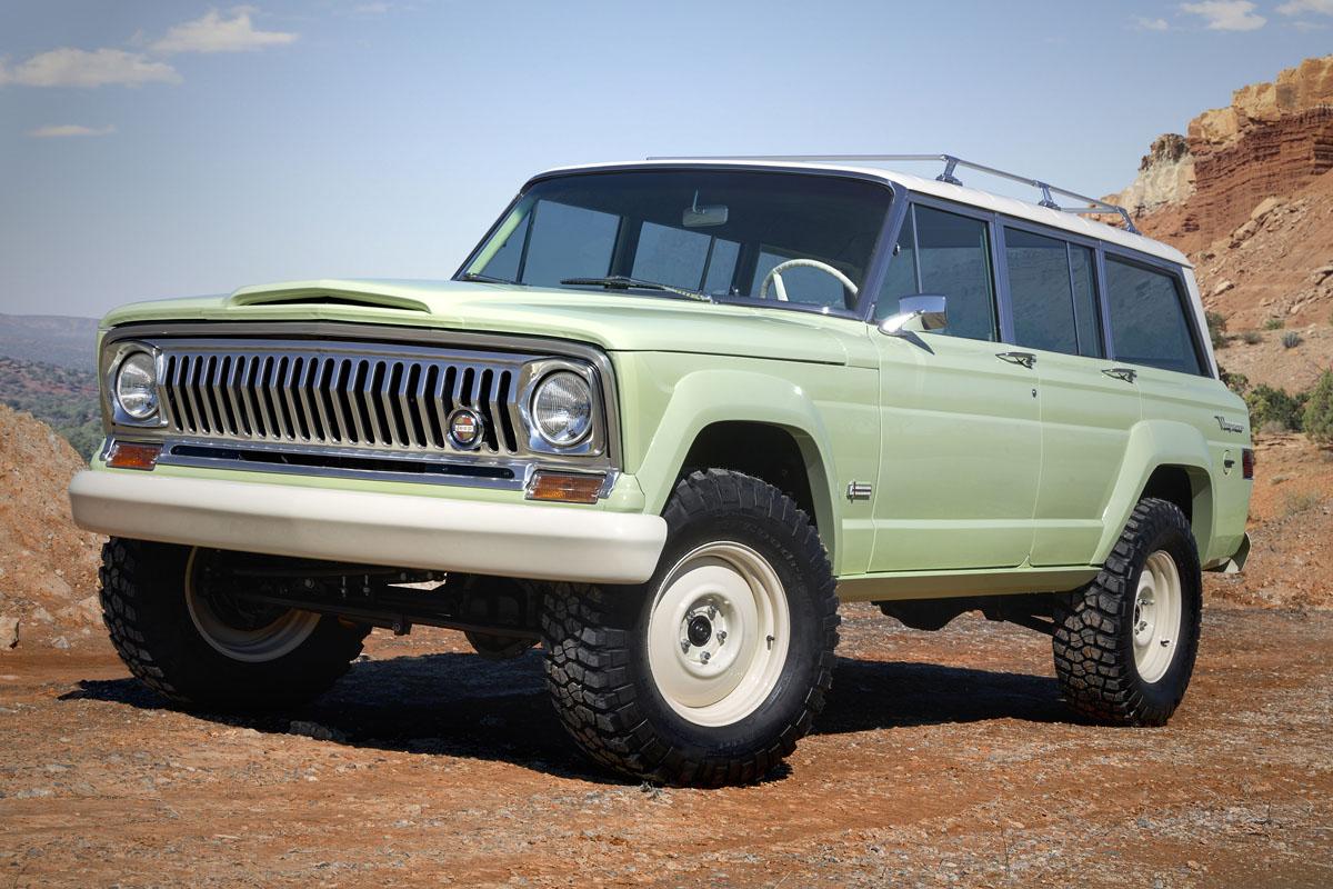 Kick It Old School With The Jeep Wagoneer Roadtrip