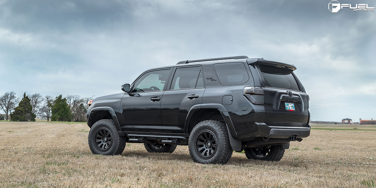 Party On With This Toyota 4runner On Fuel Wheels