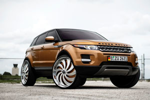 Range Rover Evoque DUB Cojones - S817 Wheels