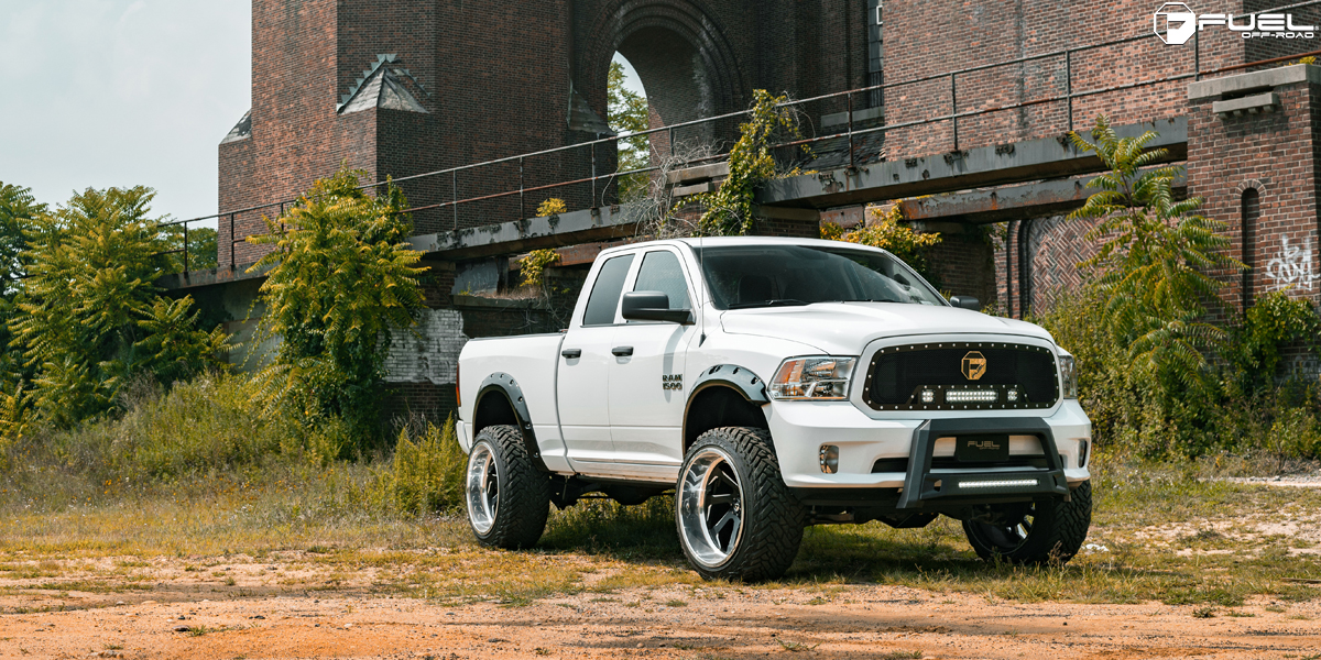 Get Tough With This Ram 1500 Riding On Fuel Rims