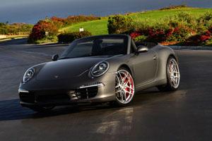 Porsche 911 Carrera S Cabriolet Niche Bavaria Wheels