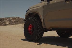 Toyota Tundra Fuel Zephyr Rims