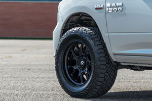 This Ram 1500 On Fuel Wheels Is Just Right