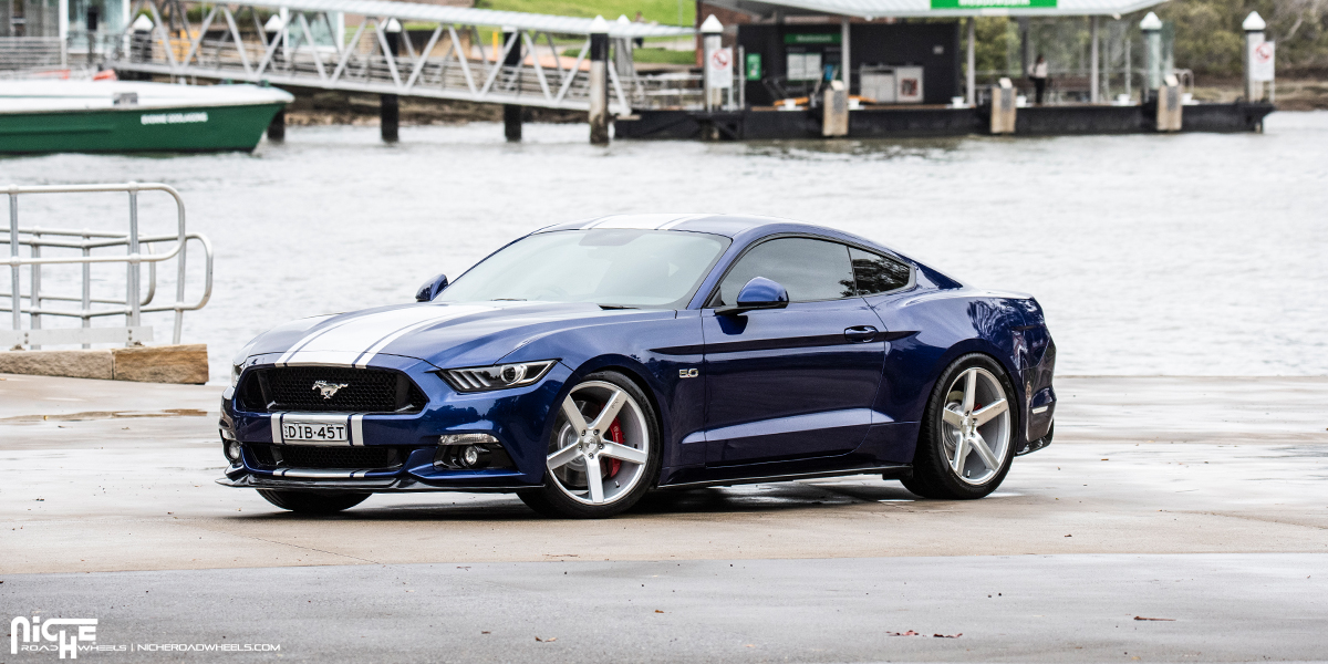 Niche Wheels Mustang >> Lay Down The Power With This Mustang Gt On Niche Wheels