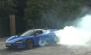 McLaren 720S Burnouts Goodwood Festival of Speed