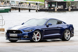 Ford Mustang GT Niche Milan - M135 wheels