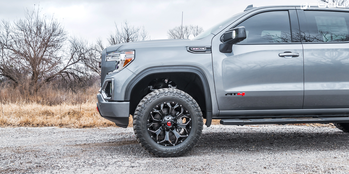 Rock On With This Gmc Sierra 1500 At4 On Fuel Wheels
