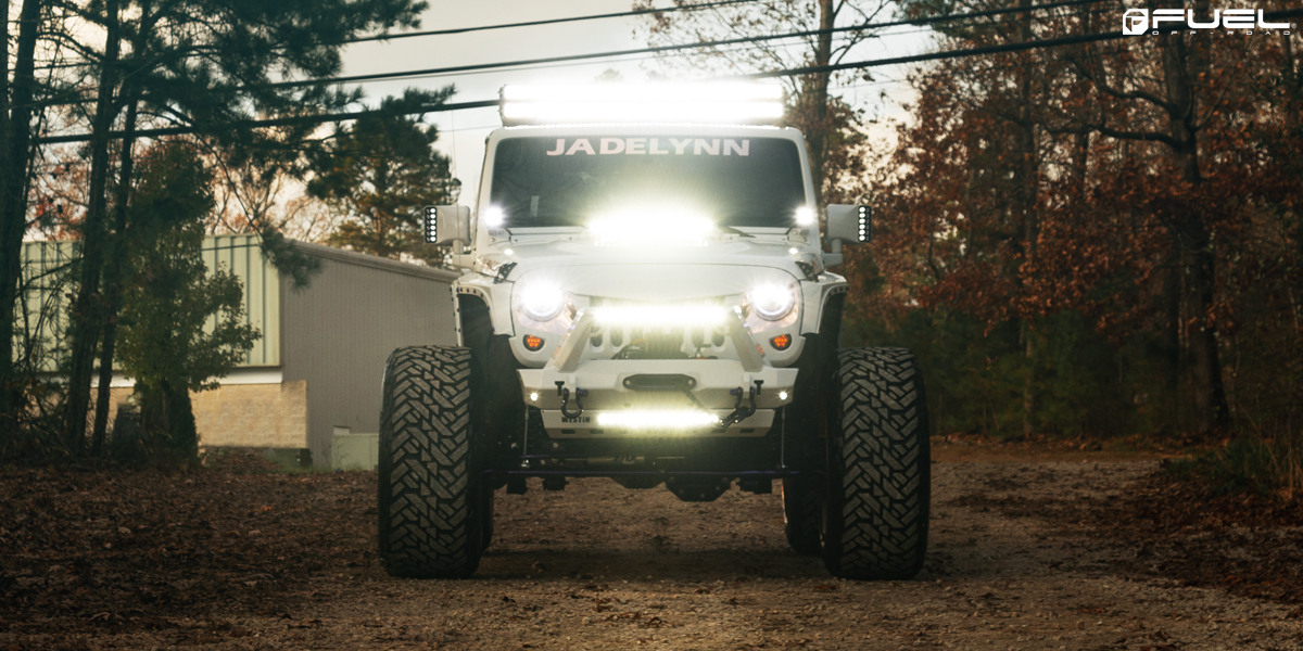 Jeep Wrangler Fuel FF37 Wheels