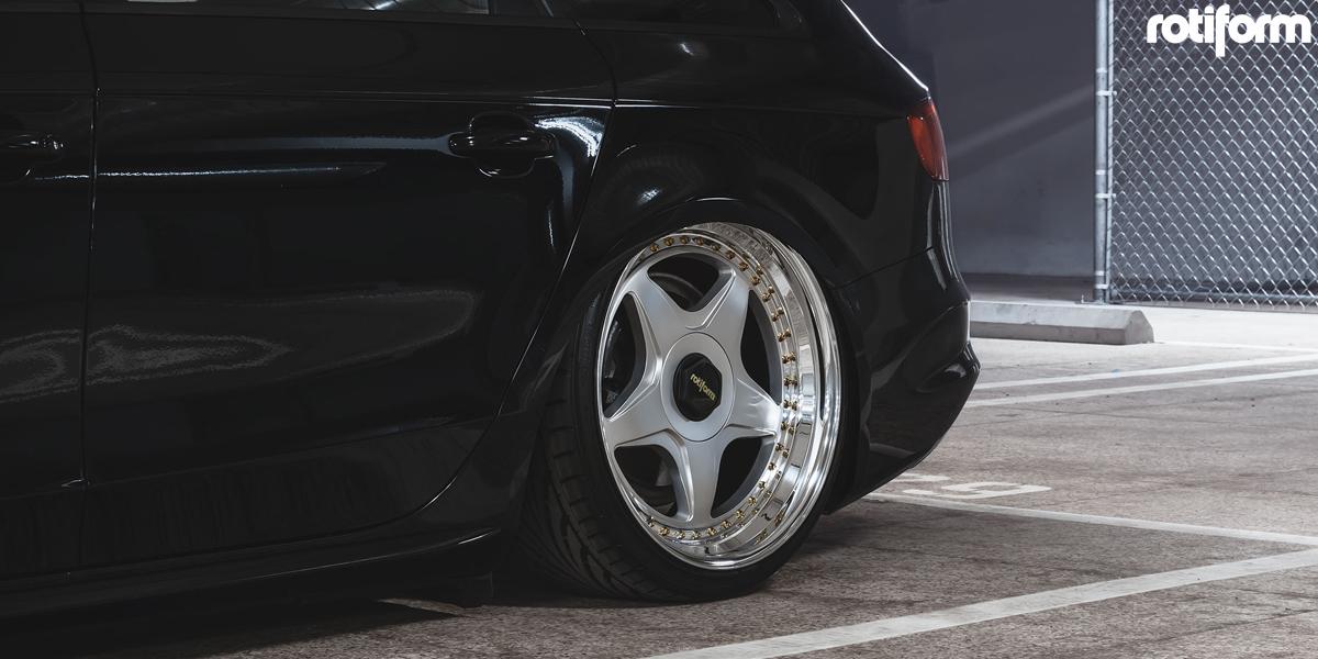 Audi S4 Avant Rotiform WRO Wheels