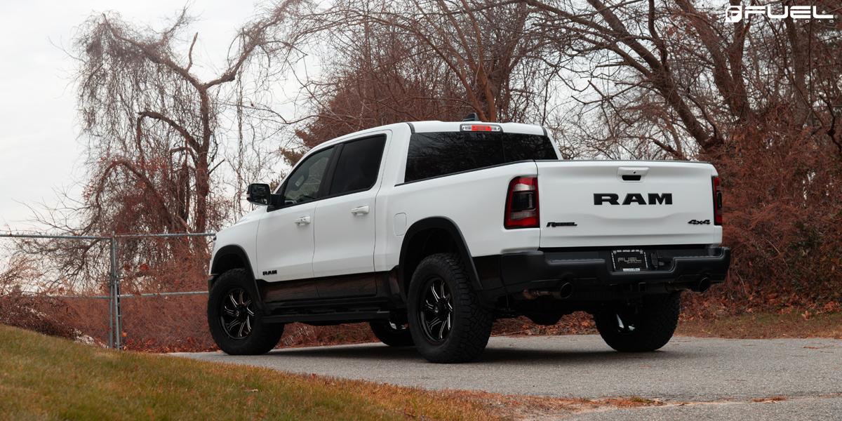 RAM Rebel Fuel Seeker - D676 Wheels