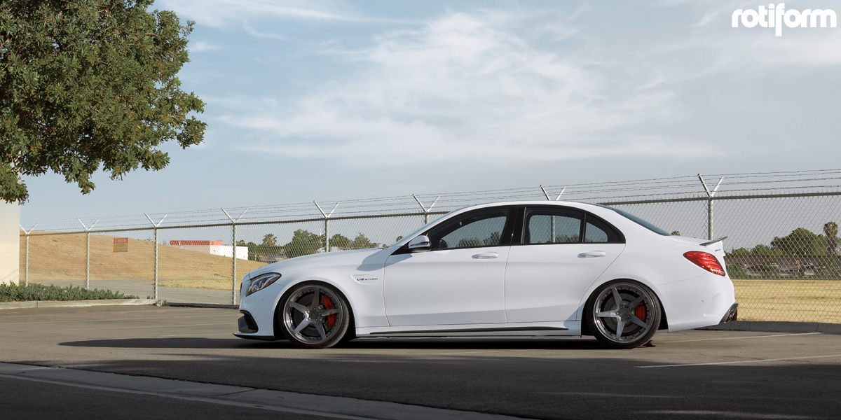 Mercedes-AMG C63 S with Rotiform WGR Wheels