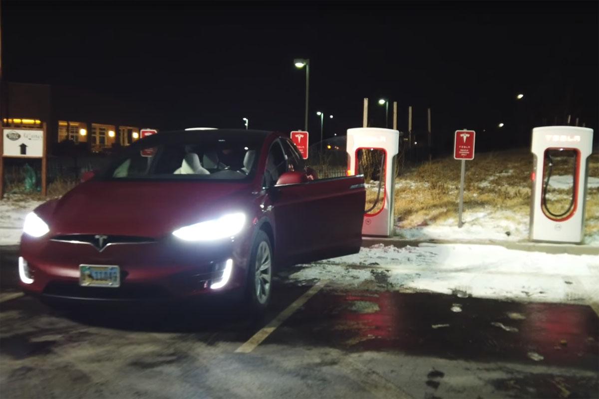 Tesla Model X Towing Truck