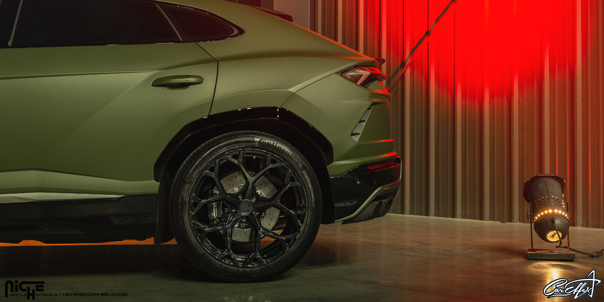 Ride The Bull With This Lamborghini Urus On Niche Wheels