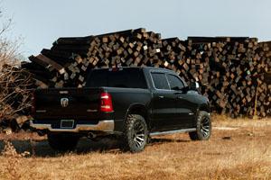 RAM 1500 Fuel Blitz - D674 Wheels