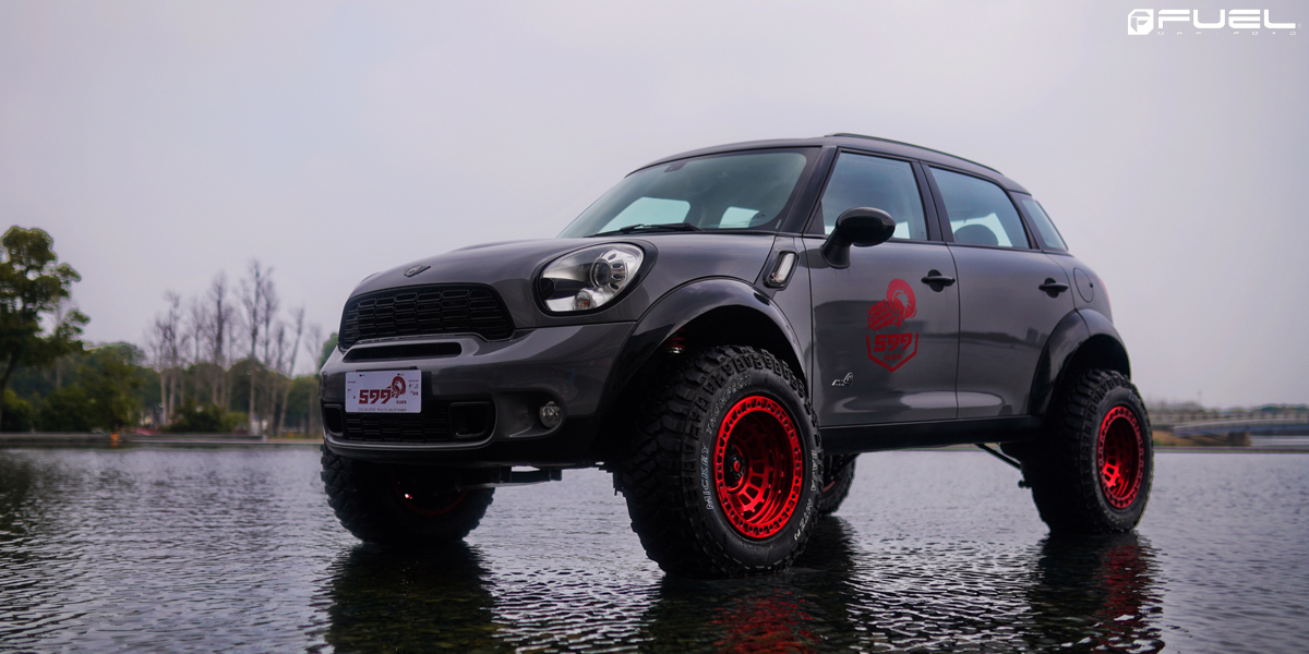 This Mini Countryman With Fuel Wheels Is A Hot Hatch