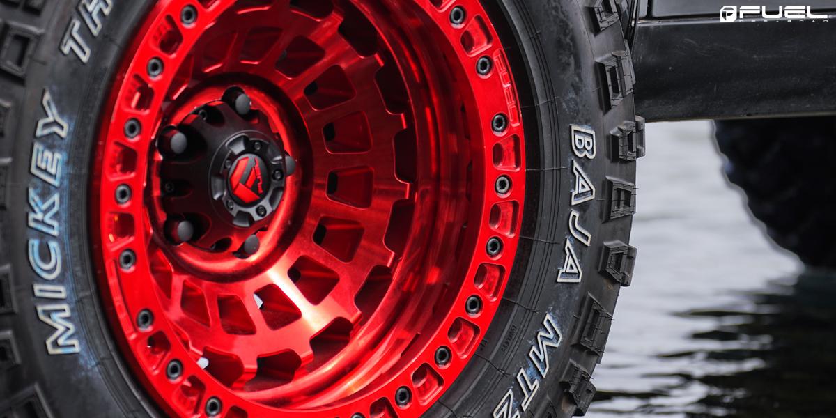MINI Cooper Countryman Fuel Zephyr Beadlock - D100 Wheels