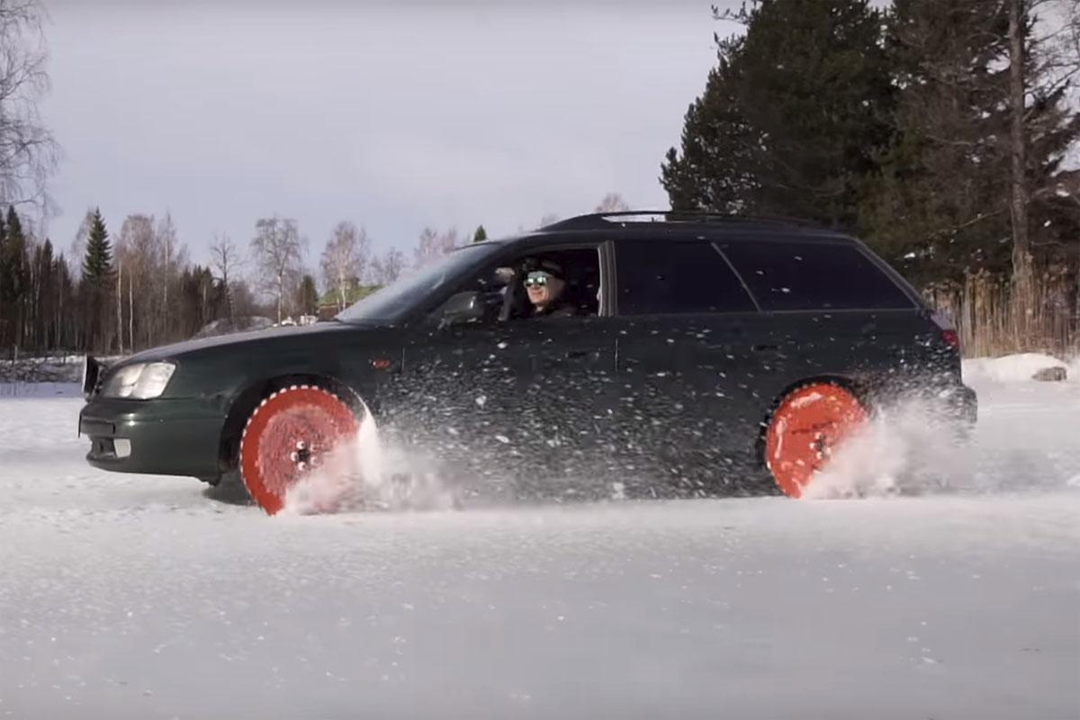 Subaru Legacy Saw Blade Car Wheels