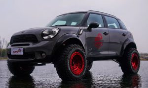 MINI Cooper Countryman Fuel Zephyr Beadlock - D100 Wheels