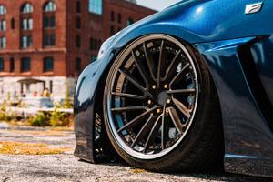 Lexus IS F Rotiform DVO Wheels
