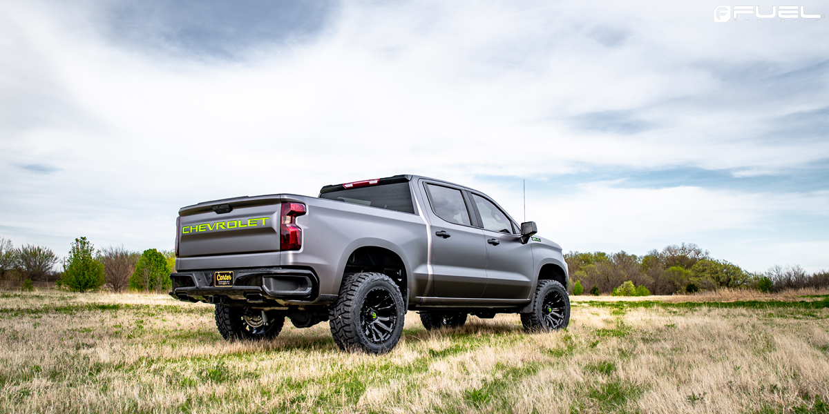 Chevrolet Silverado Fuel Blitz - D675 Rims