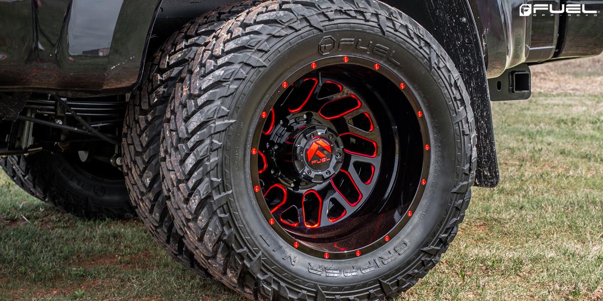Ford F-350 Super Duty Fuel Triton Dually - D656 Wheels