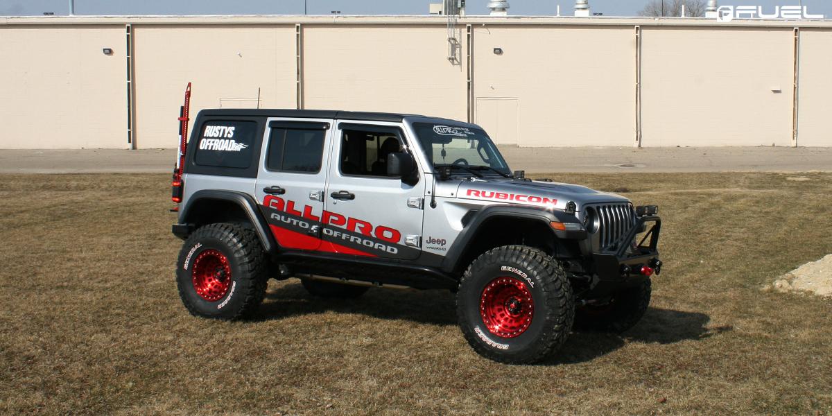 Jeep Wrangler Fuel Zephyr Beadlock - D100 Rims
