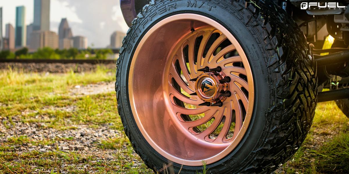 Ford F-250 Super Duty Fuel FF28 Wheels