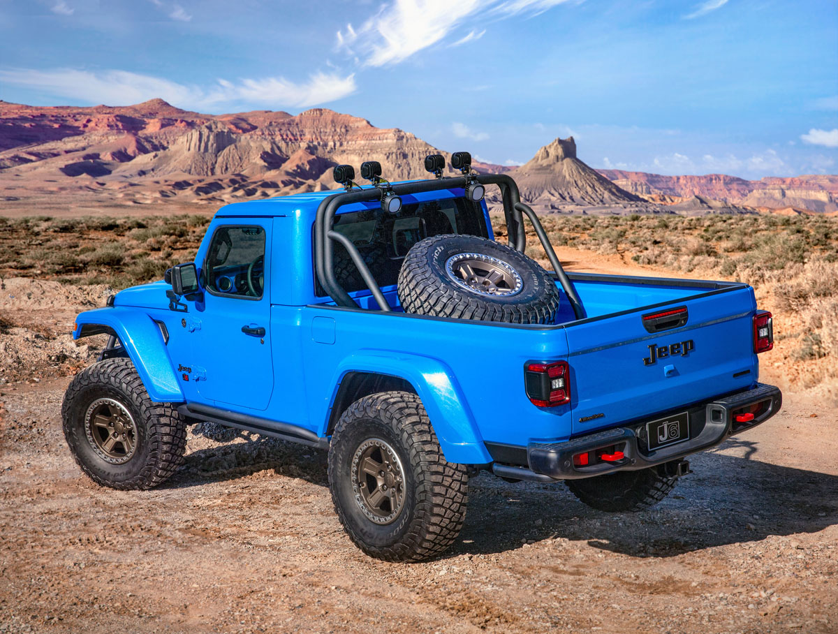 Jeep J6 Concept Truck Wheels