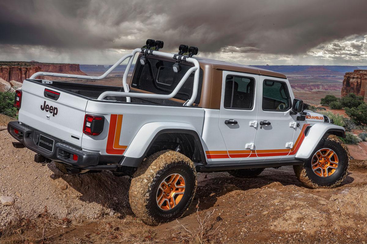 Jeep JT Scrambler Concept Custom Wheels