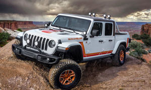 Jeep JT Scrambler Concept Custom Wheels
