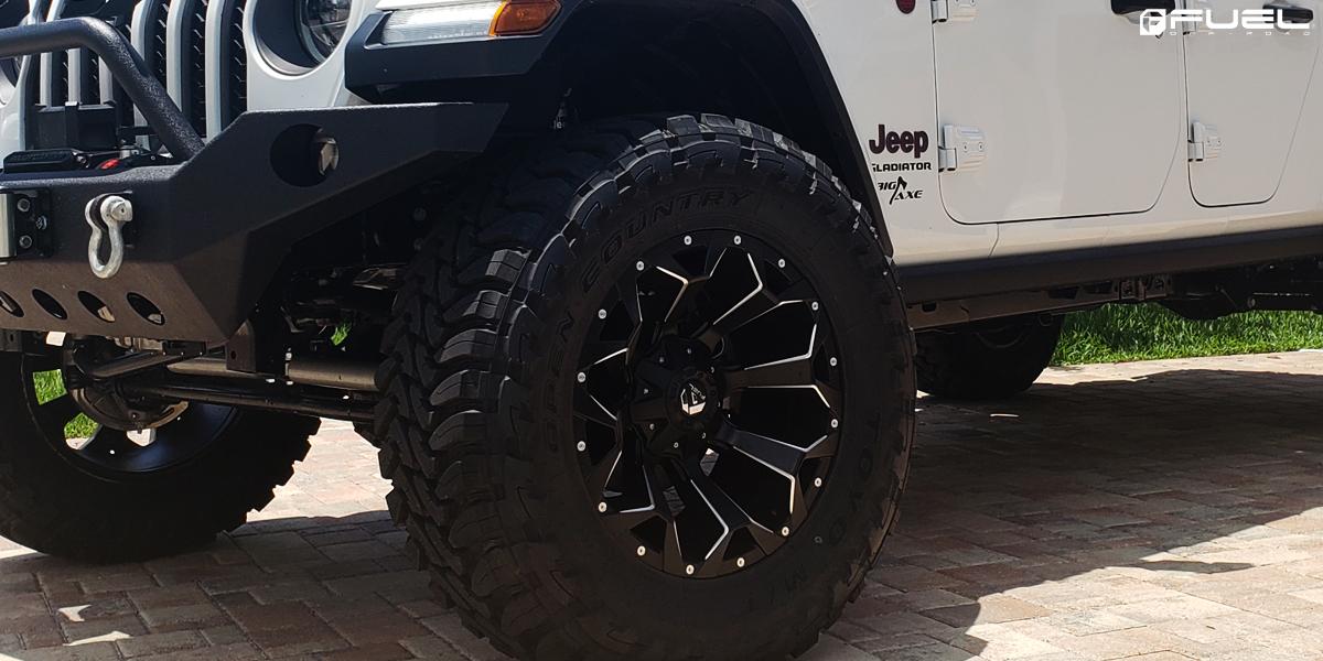 Jeep Gladiator Fuel Assault - D546 Wheels