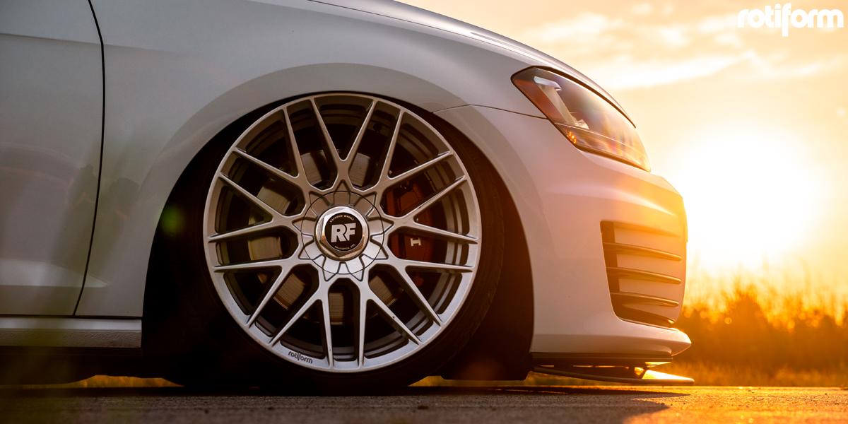 Volkswagen GTI with Rotiform RSE Wheels