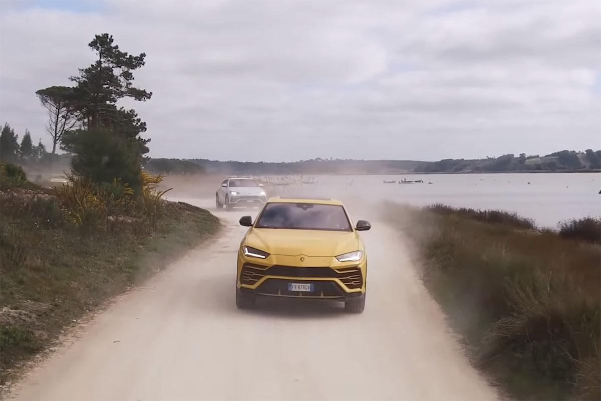 Lamborghini Urus Wheels and Tires Sand