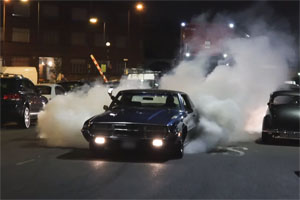 Muscle Car Burnouts in London