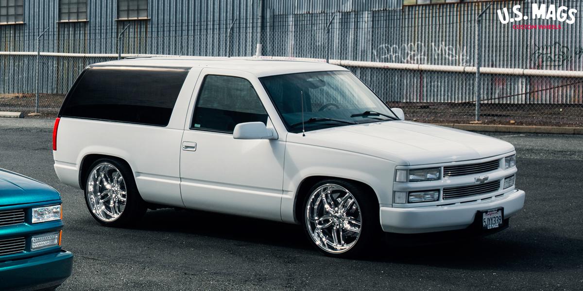 Chevrolet Tahoe US Mags C-Ten - U127 Wheels