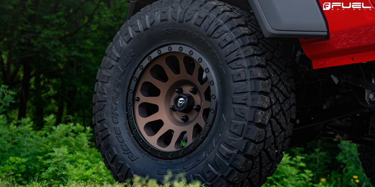 Jeep Gladiator Fuel Vector - D600 Wheels