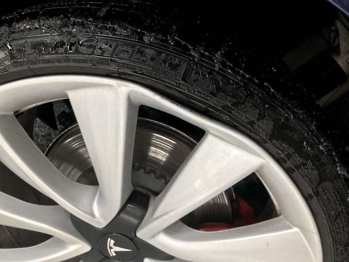 Low Profile Tires Damage
