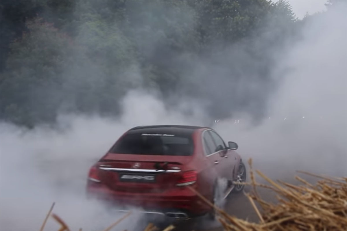 Goodwood Fesitval of Speed burnouts